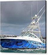 Boat Wrap On Cabo Canvas Print