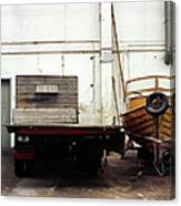 Boatworks Canvas Print