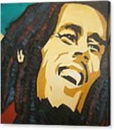 Bob Marley-amazing Story Canvas Print