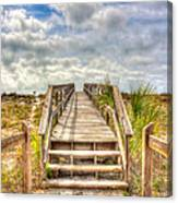 Boca Grande Boardwalk Canvas Print