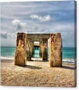 Boca Grande Ruins In Paradise Canvas Print