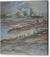 Bodega Bay Sand Dunes Canvas Print