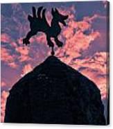 Bodegas El Grifo  Canvas Print