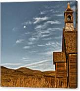 Bodie California Church Canvas Print