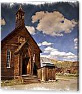 Bodie Church - Impressions Canvas Print