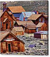 Bodie Ghost Town California Canvas Print