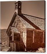 Bodie State Historic Park California Church Canvas Print