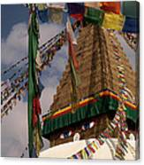 Bodnath Stupa Canvas Print
