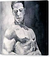 Body Building Canvas Print