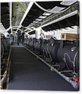 Boeing 747-8 Interior Canvas Print
