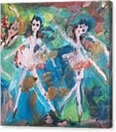 Bog Fairies Canvas Print