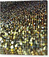 Bokeh Bling Watercolor Photoart Canvas Print