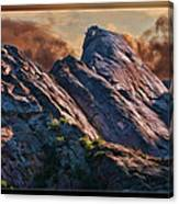 Bold Boulders Canvas Print