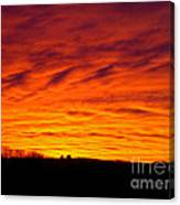 Bold Sunset Canvas Print
