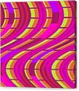 Bold Swirl  Canvas Print
