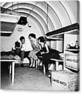 Bomb Shelter, 1955 Canvas Print