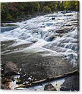 Bond Falls Upper 1 Canvas Print