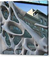 Bond Street Sculpture Canvas Print