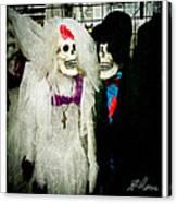 Boo-tiful Couple Canvas Print