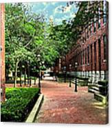 Boott Cotton Mills Courtyard 2 Canvas Print