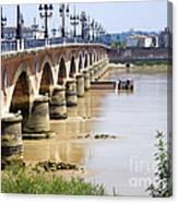 Bordeaux Bridge Canvas Print