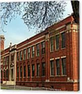 Border Star Elementary School Kansas City Missouri Canvas Print