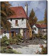 Borgogna Canvas Print