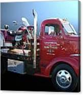 Boss Hoss Truck Canvas Print