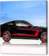 Boss Mustang Canvas Print