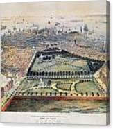 Boston, 1850 Canvas Print