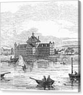 Boston: Almshouse, 1852 Canvas Print