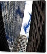 Boston Blue Sky And Stone Canvas Print