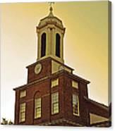 Boston Church Canvas Print