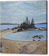 Boswell's Point-lake Superior Canvas Print