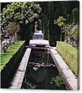 Botanical Reflections Canvas Print