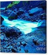 Bottlenecked Water  Canvas Print