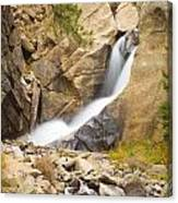 Boulder Colorado Boulder Falls Canvas Print