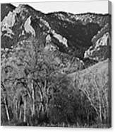 Boulder Colorado Front Range Ncar View Canvas Print