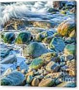 Boulder Splash Canvas Print