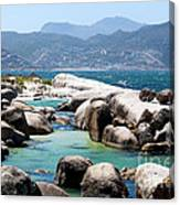 Boulders Beach Canvas Print