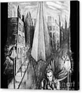 Boulevard Of Broken Dreams Canvas Print