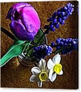 Bouquet Of Bulbs Canvas Print