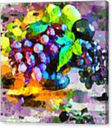 Bouquet Of Fruits Canvas Print