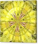 Bouquet Of Roses Kaleidoscope 12 Canvas Print