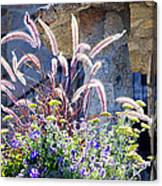 Bouquets On Display Canvas Print