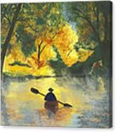 Bourbeuse River Sunrise Canvas Print