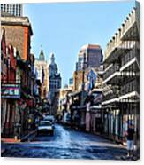Bourbon Street By Day Canvas Print