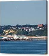 Bournemouth Pier In Dorset Canvas Print