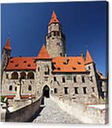 Bouzov Castle Canvas Print