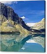 Bow Lake,alberta,canada Canvas Print